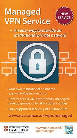Managed VPN service poster