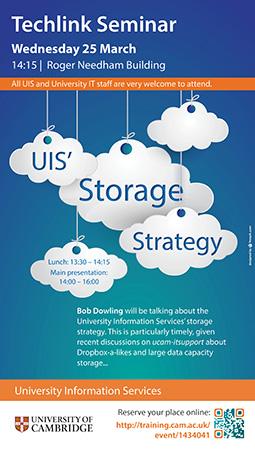 UIS Storage Strategy, Techlink Seminar