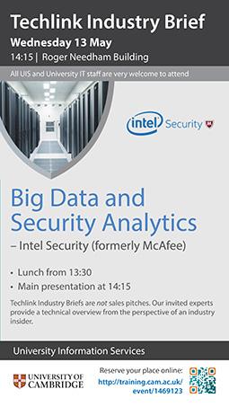 Big Data & Security Analytics, Techlink Industry Brief