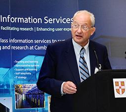 The Chancellor opens the West Cambridge Data Centre, 19 March 2015