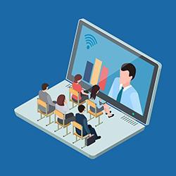 Online educational video