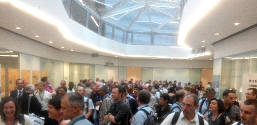 Netowrking at Oxford's new Mathematical Institute